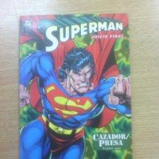 Cómics: SUPERMAN JUICIO FINAL CAZADOR PRESA #2. Lote 83605352
