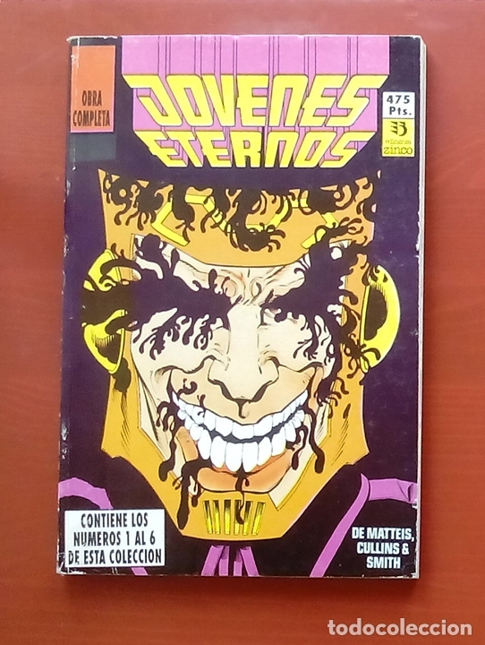 JÓVENES ETERNOS Nº1 A 6 POR J.M. DEMATTEIS, PARIS CULLINS - ZINCO (RETAPADO CON 6 NÚMEROS) COMPLETA (Tebeos y Comics - Zinco - Retapados)
