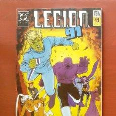 Cómics: L.E.G.I.O.N. 91 Nº1 A 5 POR GIFFEN Y GRANT - ZINCO (1991) (RETAPADO CON 5 NÚMEROS). Lote 83662319