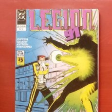 Cómics: L.E.G.I.O.N. 91 Nº6 A 10 POR GIFFEN, GRANT, KITSON - ZINCO (1991) (RETAPADO CON 5 NÚMEROS). Lote 83666771