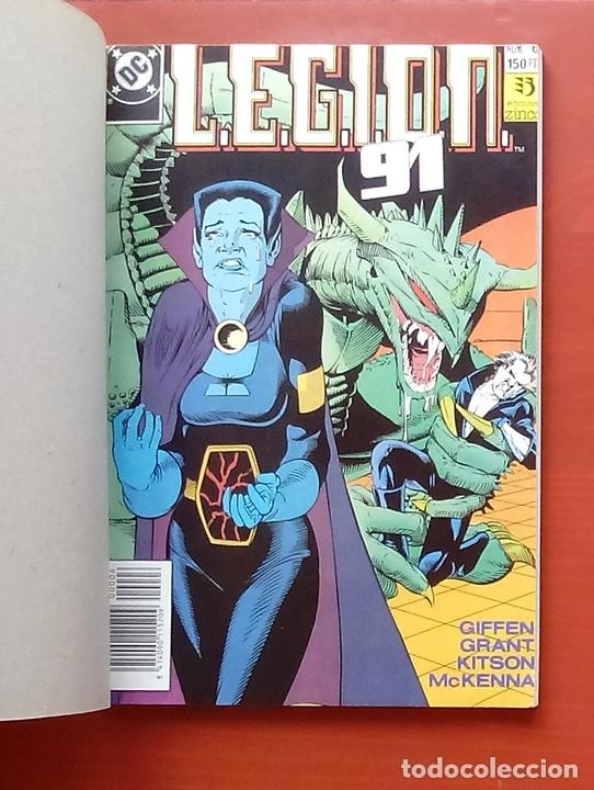 Cómics: L.E.G.I.O.N. 91 nº6 a 10 por Giffen, Grant, Kitson - Zinco (1991) (Retapado con 5 números) - Foto 3 - 83666771