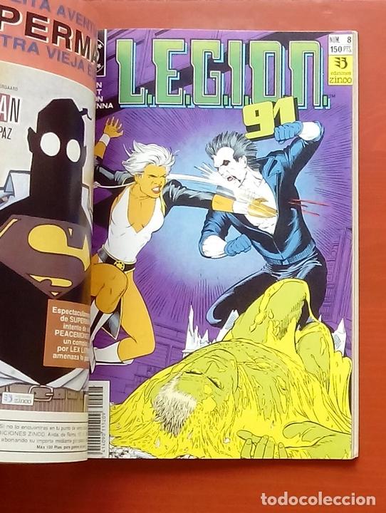 Cómics: L.E.G.I.O.N. 91 nº6 a 10 por Giffen, Grant, Kitson - Zinco (1991) (Retapado con 5 números) - Foto 5 - 83666771