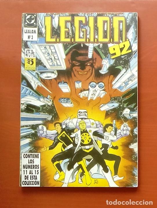 L.E.G.I.O.N. 92 Nº11 A 15 POR GRANT Y KITSON - ZINCO (1992) (RETAPADO CON 5 NÚMEROS) (Tebeos y Comics - Zinco - Legión 91)