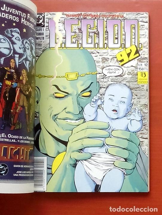 Cómics: L.E.G.I.O.N. 92 nº11 a 15 por Grant y Kitson - Zinco (1992) (Retapado con 5 números) - Foto 4 - 83666962