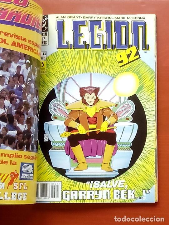 Cómics: L.E.G.I.O.N. 92 nº11 a 15 por Grant y Kitson - Zinco (1992) (Retapado con 5 números) - Foto 5 - 83666962