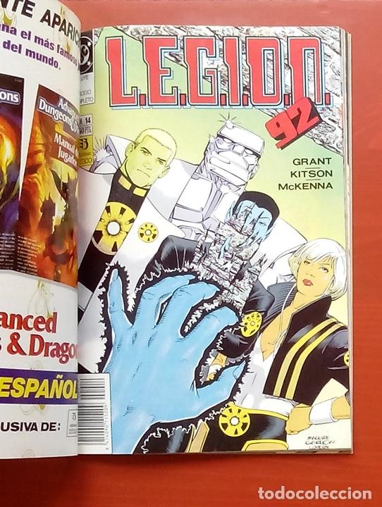 Cómics: L.E.G.I.O.N. 92 nº11 a 15 por Grant y Kitson - Zinco (1992) (Retapado con 5 números) - Foto 6 - 83666962