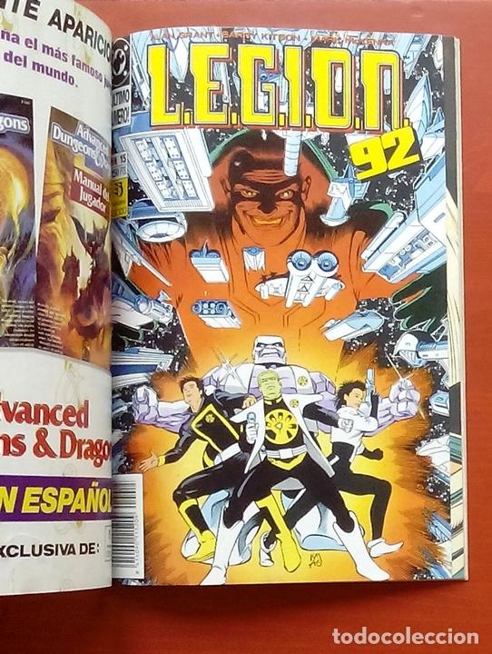 Cómics: L.E.G.I.O.N. 92 nº11 a 15 por Grant y Kitson - Zinco (1992) (Retapado con 5 números) - Foto 7 - 83666962