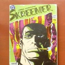 Cómics: SKREEMER Nº 1 A 6 POR PETER MILLIGAN, BRETT EWINS - ZINCO 1990 (RETAPADO CON 6 NÚMEROS) COMPLETA . Lote 83667100
