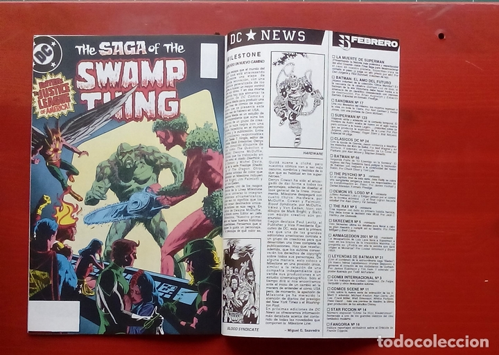 Cómics: Clasicos DC:Demon y Cosa del Pantano- Wagner, Alan Moore, Bissette- Zinco (1987) (Lote de 3 cómics) - Foto 18 - 83667506