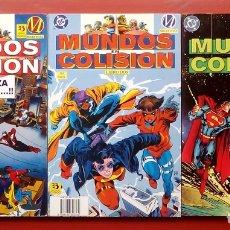 Cómics: MUNDOS EN COLISIÓN LIBRO UNO A TRES - EDICIONES ZINCO (1995) (LOTE DE 3 TOMOS) COMPLETA . Lote 83669580