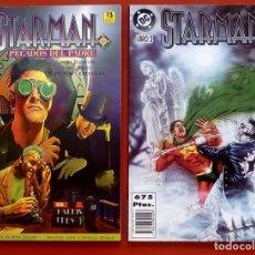 Cómics: STARMAN: PECADOS DEL PADRE Nº1 Y 2 - EDICIONES ZINCO (1996) (LOTE DE 2 TOMOS) COMPLETA . Lote 83670106