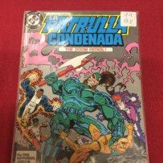 Comics: ZINCO DC PATRULLA CONDENADA NUMERO 14 BUEN ESTADO. Lote 83835008