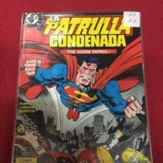 Comics: ZINCO DC PATRULLA CONDENADA NUMERO 10 BUEN ESTADO. Lote 83835088