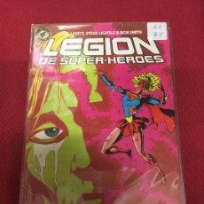 Comics: ZINCO DC LEGION DE SUPER HEROES NUMERO 11 BUEN ESTADO. Lote 83876816