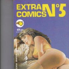 Cómics: EXTRA CÓMICS Nº 5. CÓMICS ADULTOS. NÚMEROS , 22,23, 24, 25 1988 (LEER)BUEN ESTADO. Lote 83933500
