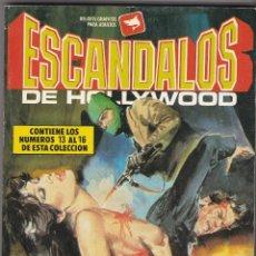 Cómics: ESCÁNDALOS DE HOLLYWOOD. CÓMICS ADULTOS. NÚMEROS , 13, 14, 15, 16 1988 BUEN ESTADO. Lote 83933852