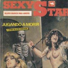 Cómics: SEXY STAR. CÓMICS ADULTOS. NÚMEROS 1, 2, 3, 4. ZINCO 1988 BUEN ESTADO. Lote 83936672