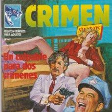 Cómics: CRIMEN Nº 63. ZINCO 1981. CÓMIC ADULTOS (COMO NUEVO). Lote 83959336