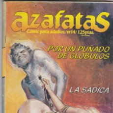 Cómics: AZAFATAS Nº 14. ZINCO 1985. CÓMICS ADULTOS, EN ESTADO NORMAL. Lote 83962172