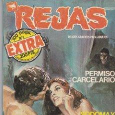 Fumetti: REJAS EXTRA Nº 1 ZINCO 1987 CÓMICS ADULTOS 98 PÁGINAS (ESTADO NORMAL). Lote 83988072