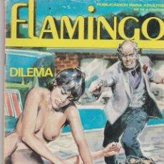 Cómics: FLAMINGO Nº 15 ZINCO 1985 66 PÁGINAS. CÓMICS ADULTOS. FALTA TROCITO CONTRAPORTADA VER . Lote 84096220