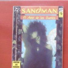 Cómics: SANDMAN Nº1 A 4 POR NEIL GAIMAN, MIKE DRINGENBERG - EDICIONES ZINCO (RETAPADO CON 4 NÚMEROS). Lote 84508536