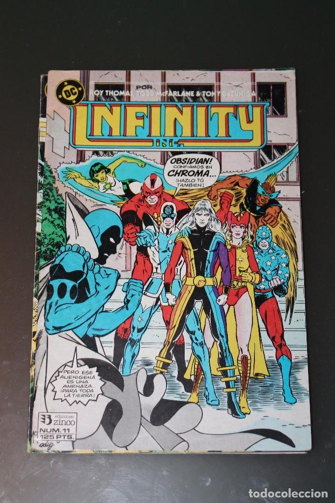 INFINITY INC 11 ZINCO (Tebeos y Comics - Zinco - Infinity Inc)