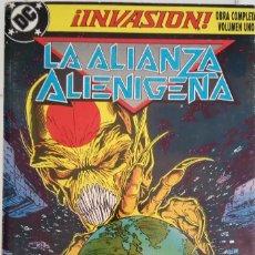 Cómics: INVASION Nº 1, 2, 3, 4 DE KEITH GIFFEN, BILL MANTLO, TODD MCFARLANE, J.M. DEMATTEIS, GEORGE PEREZ... Lote 85246532