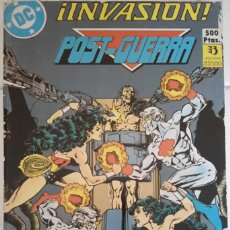 Cómics: INVASION Nº 5, 6, 7, 8 DE KEITH GIFFEN, J.M. DEMATTEIS, KEVIN MAGUIRE, GEORGE PEREZ, BILL MANTLO.... Lote 85247328