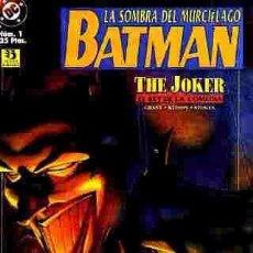 Cómics: BATMAN (LA SOMBRA DEL MURCIELAGO) (ZINCO) Nº 1 (MONOGRAFICO) GRANT - KITSON- STOKES. Lote 85309540