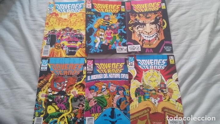 JOVENES ETERNOS (OBRA COMPLETA 6 NÚMEROS) (Tebeos y Comics - Zinco - Otros)
