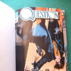 Cómics: QUESTION DEL 1 AL 7 ENCUADERNADOS EN UN TOMO EDICIONES ZINCO. Lote 85486468