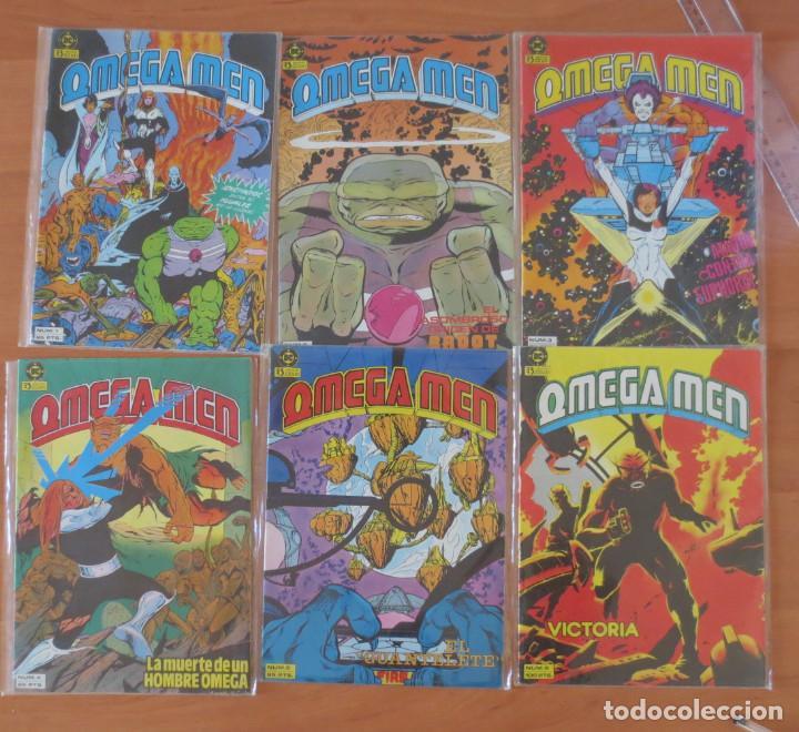 OMEGA MEN CASI COMPLETA (Tebeos y Comics - Zinco - Otros)