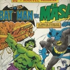 BATMAN VS LA MASA, 1989, Zinco, muy buen estado