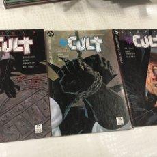 Cómics: BATMAN THE CULT 1,2 Y 3. Lote 86044098