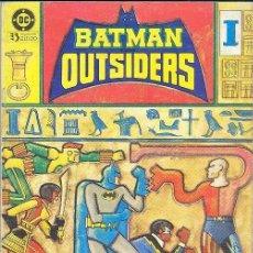 Cómics: BATMAN Y LOS OUTSIDERS (RETAPADO) Nº 3 PERFECTO ESTADO. Lote 86203028