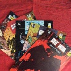 Cómics: LEYENDAS DE BATMAN,PRESA, DE MOENCH & GULACY. Lote 86241444