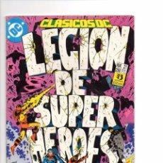 Cómics: LEGION DE SUPERHEROES - CLASICOS DC Nº 21 DC / ZINCO. Lote 86284600