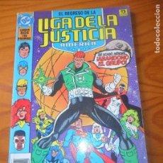 Cómics: EL REGRESO DE LA LIGA DE LA JUSTICIA AMERICA TOMO LIBRO DOS, 116PGNAS - ZINCO. Lote 86308600