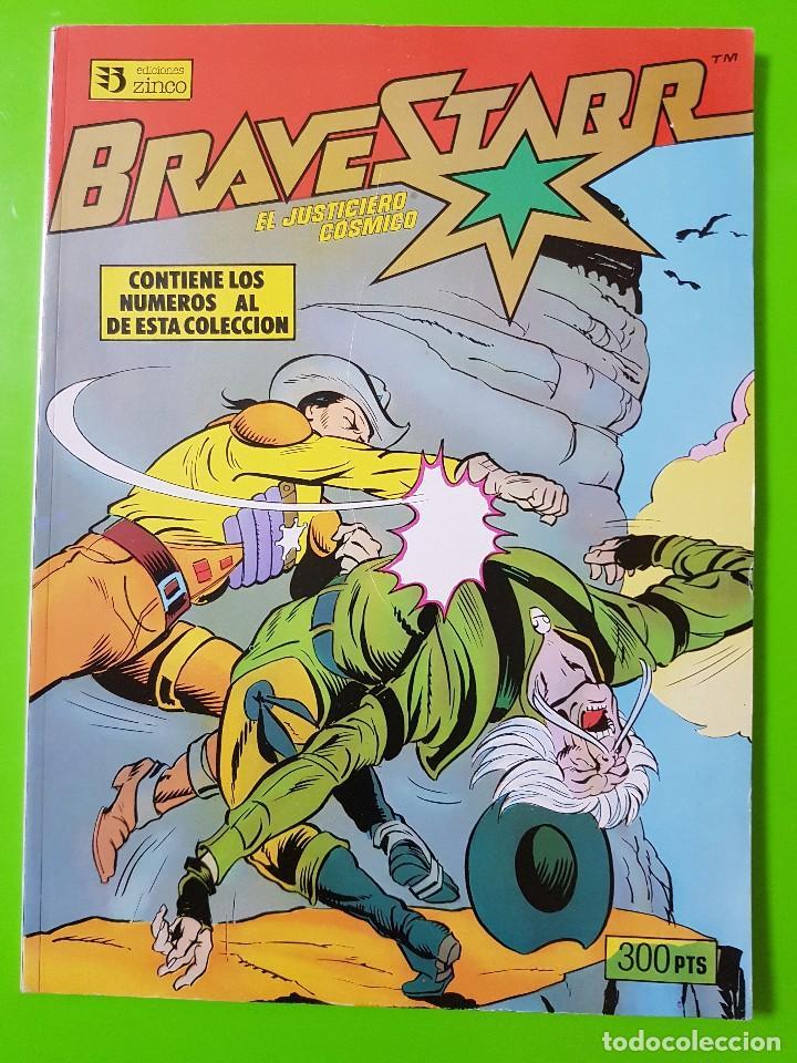 BRAVE STARR COLECCIÓN COMPLETA DEL 1 AL 5 EN UN RETAPADO COMPLETAMENTE NUEVO (Tebeos y Comics - Zinco - Retapados)