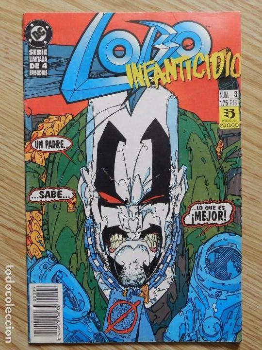 LOBO # 3 DE 4 ZINCO - AÑO 1993 INFANTICIDIO - GIFFEN & GRANT PARTE TERCERA DC SERIE LIMITADA (Tebeos y Comics - Zinco - Lobo)