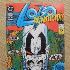 Cómics: LOBO # 3 DE 4 ZINCO - AÑO 1993 INFANTICIDIO - GIFFEN & GRANT PARTE TERCERA DC SERIE LIMITADA. Lote 188699042