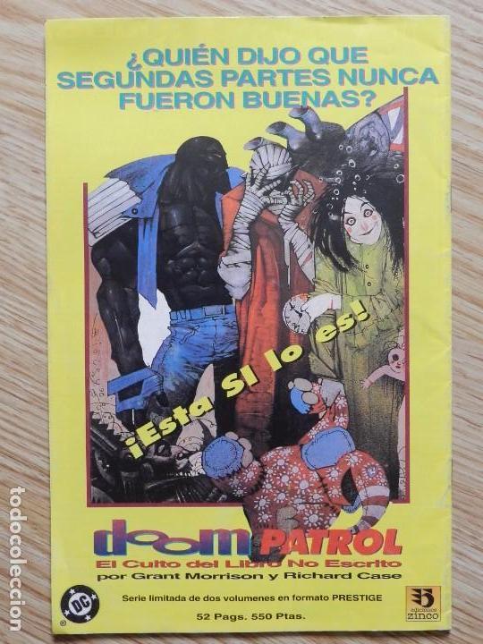 Cómics: LOBO # 3 de 4 ZINCO - AÑO 1993 INFANTICIDIO - GIFFEN & GRANT parte tercera DC serie limitada - Foto 2 - 188699042