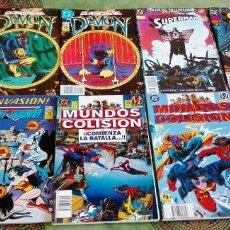 Cómics: LOTE DE 10 COMICS DE EDICIONES ZINCO. DEMON, SUPERMAN.... Lote 86545584