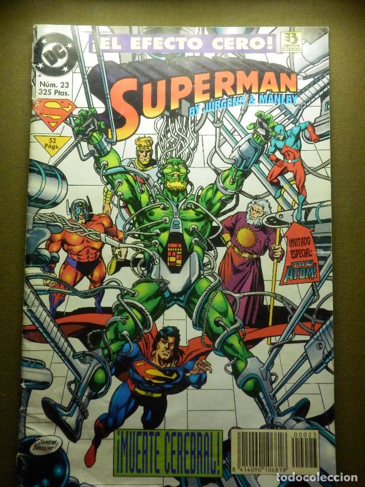 COMIC - SUPERMAN - Nº 23 - ZINCO - EL EFECTO SUPER CERO (Tebeos y Comics - Zinco - Superman)