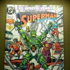 Cómics: COMIC - SUPERMAN - Nº 23 - ZINCO - EL EFECTO SUPER CERO. Lote 86969992
