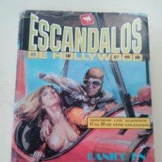 Cómics: ESCÁNDALOS DE HOLLYWOOD-EXTRA Nº 5-COMIC EROTICO-ED. ZINCO-1989-CONTIENE 4 COMICS . Lote 87503344