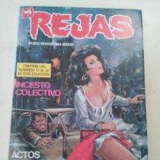 Cómics: COMIC EROTICO REJAS-EXTRA Nº 5-ED. ZINCO-1987-CONTIENE 4 COMICS . Lote 87504056