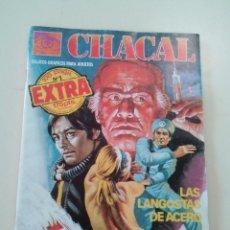 Cómics: CHACAL- LOTE DE 20 COMICS + 3 DE REGALO-ED. ZINCO-1983-OPORTUNIDAD-VER… 2325 GRAMOS. Lote 87525040