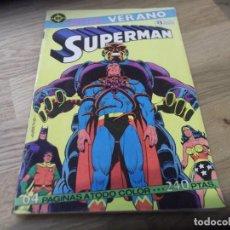 Cómics: SUPERMÁN. ESPECIAL VERANO. DC. EDICIONES ZINCO. 64 PÁGINAS. COLOR.. Lote 87705368